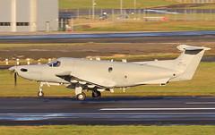 80700 (GSairpics) Tags: pilatus pc12 u28 u28a usaf unitedstatesairforcespecialoperations aircraft aeroplane airplane aviation mil military airport pik egpk prestwickairport ayrshire scotland 80700 080700