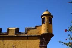 Garita (dreamtwister82) Tags: funchal madeira portugal ciudad city cidade st james fort fortaleza de são tiago castillo santiago guarita