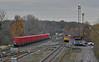 60020 and 60017 at Kingsbury (robmcrorie) Tags: 60017 60020 class 60 tug kingsbury branch junction warwickshire walsall dowlow lindsey oil tank wagon train rail railway freight nikon d7500