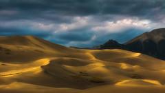 Great sand dunes national park. (3dRabbit) Tags: great sand dunes national park usa landscape nature cloud mountain sungjinahn