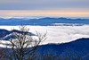 Cold Weather Look from the Parkway (esywlkr) Tags: pisgah nationalforest northcarolina brp nc blueridgeparkway landscape nature sky clouds mountains weather