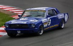 Graham Scarborough - Hi-Mark - Ford Mustang (Boris1964) Tags: 2005 heritagegrandtourers brandshatch
