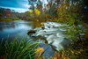 """Past peak...Explored!  Thank you! (petec1113) Tags: red fall autumn manitowishriver vilascounty wisconsin northwoods colors backroads sony woods """"boulder junction"""""""