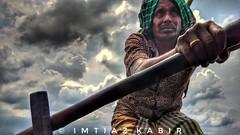BOATMAN(মাঝি) (Imtiaz Prottuy) Tags: landscape sky cloud boat boatman radder bangladesh work passion instalife instashot mobilephotography goldenhands