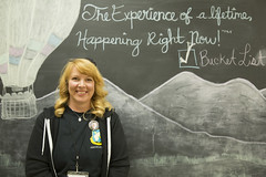 2017_RTR_New Mexico Parents Retreat 70 (TAPSOrg) Tags: taps tragedyassistanceprogramsforsurvivors newmexico parents 2017 shannonmaclean retreat bucketlist albuquerque indoor horizontal woman posed chalkboard