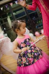 Birthday Girl (thetravelingblock) Tags: green girl little baby family birthday pink celebration