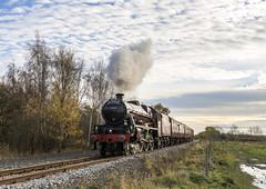 West Yorkshire Steam (4) (4486Merlin) Tags: galatea 45699 england europe exlms lms6p5fjubilee railways southyorkshire steam transport unitedkingdom royston gbr wcrc westyorkshiresteam 50yrs19672017shedbash