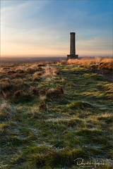 Peel Tower (David P Hughes) Tags: peel tower sunrise landscape hill view bury monument