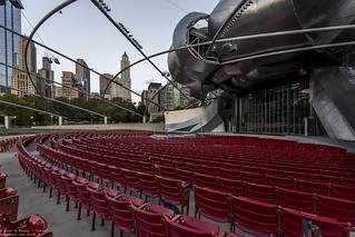 Pritzker Pavilion, Chicago - USA