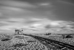 Railed (Photo Lab by Ross Farnham) Tags: mono dungeness bw desolate baron ross farnham landscape sony a7rii 1635mm zeiss