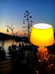 Summertime lights (firatkekevi) Tags: night bodrum sunset summervibes