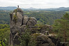 sandstone mountains on the Elbe (greg luengen) Tags: mountain mountains saxony sachsen deutschland germany rathen sächsischeschweiz sandstein sandstone sonyalpha nex nex6 holidays tourism tourist