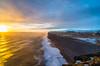 Islanda-186 (msmfrr) Tags: vento wind dyrhólaey sea lagoon panorama landscape islanda iceland neve snow cliff scogliera spiaggia beach tramonto sunset