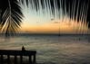 Enjoy tranquility... (gillesgxl) Tags: meditation méditation alone sunset horizon paisible sérénité calm tranquilité tranquility enjoy mer sea sky colors silhouette duck boat coconut feuille leaf cocotier martinique antilles