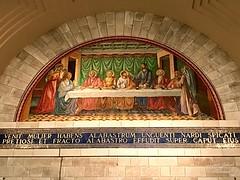 84 - Mozaikfreskó Lázár templomában - Betánia / Freska v Kostole sv. Lazara - Betánia
