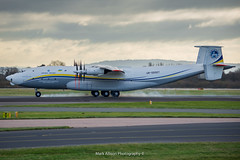 Antonov AN-22 visits Manchester (Mark_Aviation) Tags: antonov an22 visits manchester cock an 22 design bureau egcc man ringway international airport december 2017 ur09307 helsinki prestwick glasgow finland gander canada cuba thomas cook a330 engine biggest plane propeller contra rotating contrarotating prop world largest heaviest aircraft airplane air aviation airbus airlines aerospace aeroplane arriving airshow arrival af airways cargo special