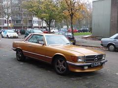 Mercedes 350 SLC V8 (1973) (brizeehenri) Tags: mercedes 350slc 1973 11zd70 rotterdam