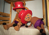 Tony Tony Chopper Anthro and Original version (Master Puppet) Tags: doll dolls puppet toy dukke poupee bambola pupazzo boneca docka muneca puppe dolly fursuit plush stuffed mannequin giant lifesize animal dollmaking tonytonychopper tony chopper props one piece onepiece monkey rufy nami nico robin
