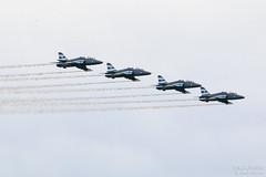 Midnight Hawks British Aerospace Hawk Mk51, EFSI, Finland (Sebastian Viinikainen.) Tags: midnighthawks finland hw334 hw340 hw341 hw345 efsi airshow hawk mk51