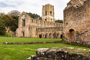 Guest view of Fountains Abbey