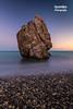The rock (Andreas Iacovides) Tags: rock sea ocean canon 5d mark iii long exposure pafos paphos cyprus calm