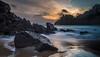 Beauport - 10/12/2017 (Tim_Horsfall) Tags: blue beach coast jersey channel islands sunset water sea rocks sand sky clouds landscape seascape fujifilm xt2