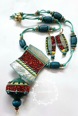 Full and Close look of set Finally the necklace is complete. Turquoise, navy blue, yellow and most vibrant red combined with crackle effect. #necklace #indian #fusion #fashion #trending #contemporaryjewelry #love #cute #red #turquoise #gift #giftforher #m (Judamani _s) Tags: twitterfull close look setfinally necklace is complete turquoise navy blue yellow most vibrant red combined with crackle effect indian fusion fashion trending contemporaryjewelry love cute gift giftforher modern formaljewe… pictwittercomcyfobtyhgz— judamani judamanis december 15 2017