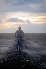 Bye, bye, flickr (Fujibert) Tags: objekt ort landschaft thema person meer insungewisse wolke stein langzeitbelichtung geestland intotheunknown landscape location longexposure theme
