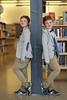 047 (boeddhaken) Tags: trick trickphotography boy cuteboy library