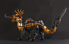 Thrugont Thunderthroat's Mechanical Dragon (Pate-keetongu) Tags: lego moc dragon dwarf dwarves dwarfpunk