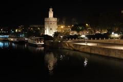 100T6062 (Enrique Romero G) Tags: torre oro sevilla nocturna noche night fujix100t