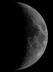 The Moon - 24th Nov 2017 (ukmjk) Tags: moon nikon d500 eq6 orion optics omc140 telescope dark night registax pipp