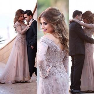 Elegant A-line Off-the-shoulder Evening Dress