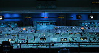 Firing Center Control Room for Apollo 8 (First Saturn V Launch) -  Saturn V/Apollo Center, Kennedy Space Center, Florida