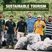 Belize Sustainable Tourism: Stakeholders Join BTIA Cayo For First Clean-Up Campaign