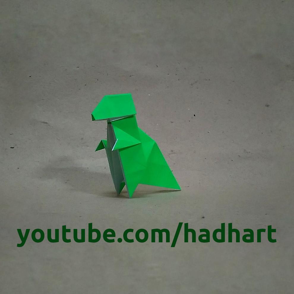 The worlds most recently posted photos of dinosaur and origami origami t rexhadi tahir haditahir tags animal dinosaur jeuxipadfo Choice Image
