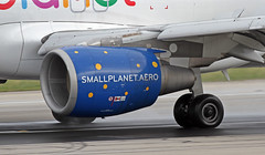 D-ASPI LMML 01-11-2017 (Burmarrad (Mark) Camenzuli) Tags: airline small planet airlines germany aircraft airbus a320214 registration daspi cn 1054 lmml 01112017