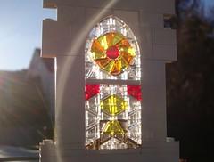 Gothic Window (captain_joe) Tags: 365toyproject lego fenster window gothic gotisch mosaik
