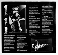 A0425 MERCYFUL FATE Don't Break The Oath (vinylmeister) Tags: vinylrecords albumcoverphotos heavymetal thrashmetal deathmetal blackmetal vinyl schallplatte disque gramophone album