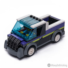 Pick UP Truck (KEEP_ON_BRICKING) Tags: lego city legocity moc car vehicle pick up truck minifigure scale keeponbricking youtube video instructions big grill 2017 latlug