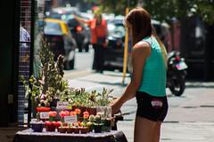 365-313 (Letua) Tags: 365project buenosaires villaurquiza cactus calle candid chica gente girl people persona portrait retrato robado street suculentas urbana