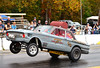 The Rod Slinger Falcon C/Gasser getting air (Thumpr455) Tags: southeastgassers finals shadysidedragway shelby nc october 2017 sega autoracing sport nikon d800 dragracing motorracing gasser worldcars action speed rodslinger falcon cgasser wheelie wheelstand ford afnikkor70200mmf28vrii adamlowhorn gray