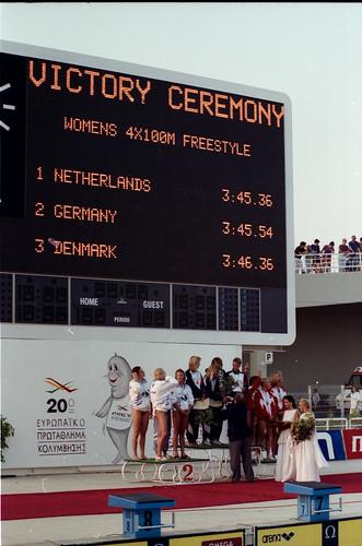 451 Swimming EM 1991 Athens