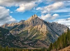 Mt. Lorette (Philip Kuntz) Tags: mtlorette canadianrockies hwy40 bighorntrail kananaskistrail peterlougheedprovincialpark kananaskiscountry peaks mountains alberta canada