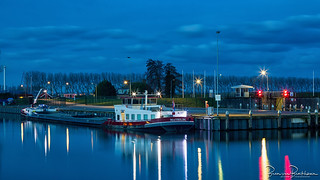 Blue Hour Middelharnis Harbor