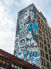 Monumental Wall Mural, SoHo, Manhattan, New York City (jag9889) Tags: 2017 20170617 architecture building graffiti house lafayettestreet lowermanhattan manhattan monumental mural ny nyc newyork newyorkcity outdoor painting soho streetart tagging usa unitedstates unitedstatesofamerica wall jag9889