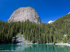 Big Beehive (maureen.elliott) Tags: alberta nature landscape hiking trail mirrorlake bigbeehive banffnationalpark canadianrockies mountains lake water restspot