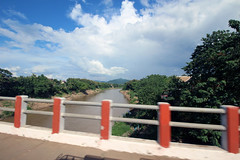driving past the Mekong River to head to the airport (_gem_) Tags: travel luangprabang laos asia southeastasia rural countryside nature country mekong river mekongriver