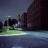 (patrickjoust) Tags: twin lens reflex tlr 120 6x6 medium format fuji chrome slide e6 color reversal expired discontinued film tungsten cable release tripod long exposure night after dark manual focus analog mechanical patrick joust patrickjoust baltimore maryland md usa us united states north america estados unidos mamiya c330 s sekor 80mm f28 fujichrome t64 dundalk county factory building house home