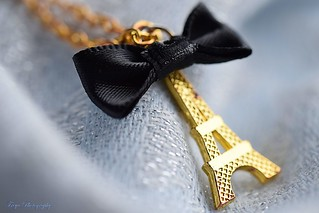 Bows and bling...